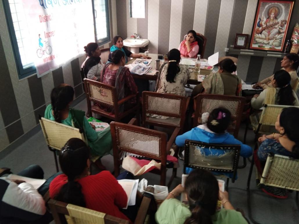पोषण अभियान के तहत डिस्ट्रिक रिर्सोस ग्रुप को इनकरिमंटल लर्निंग अप्रोच प्रशिक्षण कार्यक्रम आयोजित