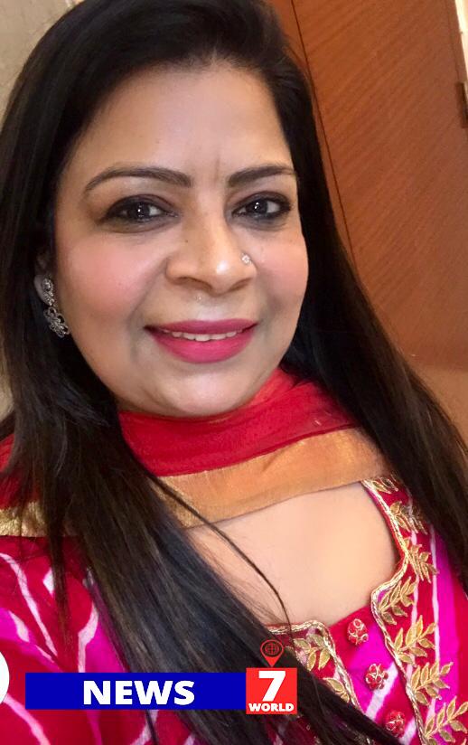 Suriti Chugh को न्यूज़ 7 वर्ल्ड (News7world) टीम की तरफ से आपको जन्मदिन की शुभकामनाएँ !
