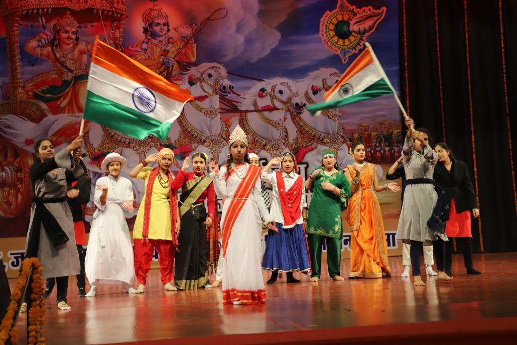 गीता महोत्सव प्रदर्शनी आमजन के लिए बनी अध्यात्मिक ज्ञान व विभागीय सेवाओं की जानकारी का केंद