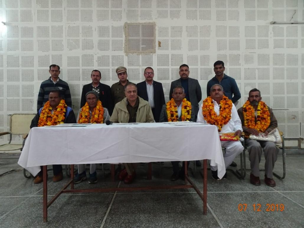 पुलिस कर्मियों की भलाई पहली प्राथमिकता: एसएसपी डॉ. अरुण सिंह