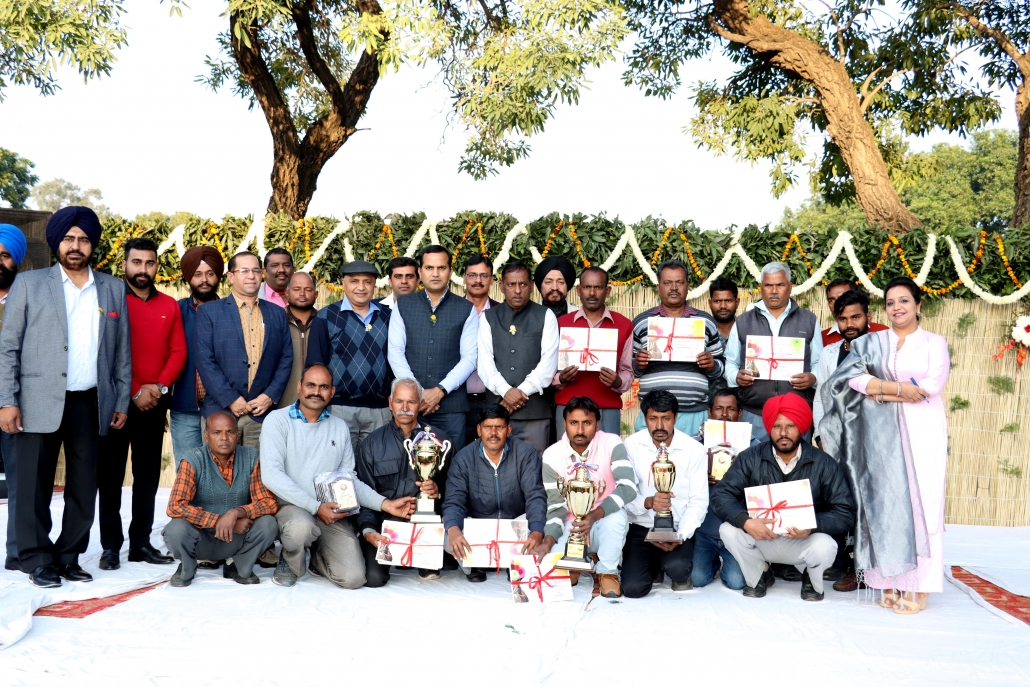 Mayor distributes prizes to winners of Chrysanthemum show