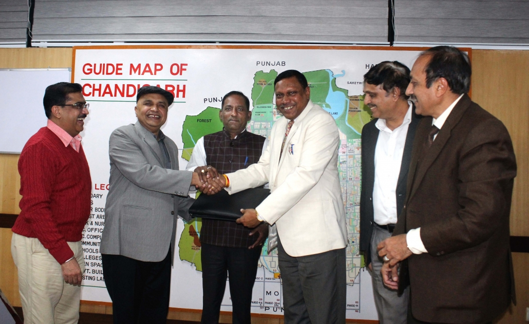 MCC signed MoU with NITTTR for survey of roads & Development of renewal plan