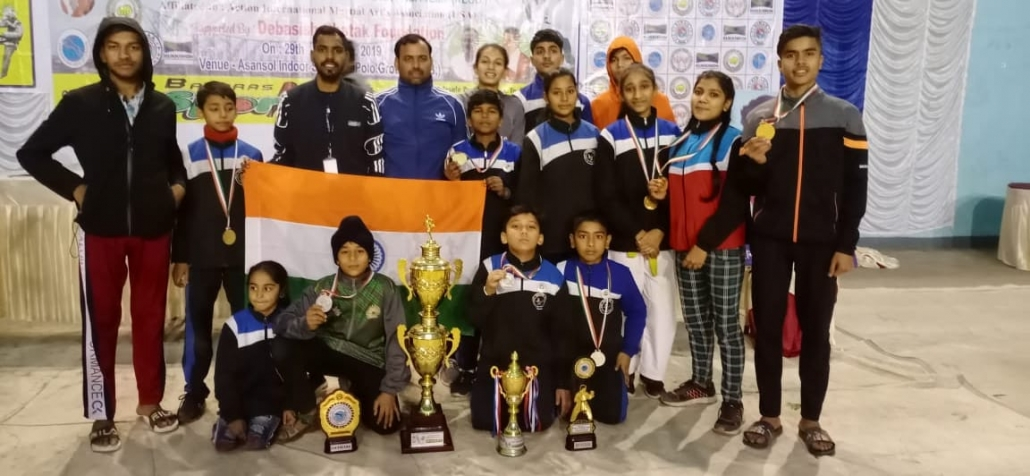 Indo Nepal International Open Taekwondo Championship 2019 held at Asansol, West Bengal