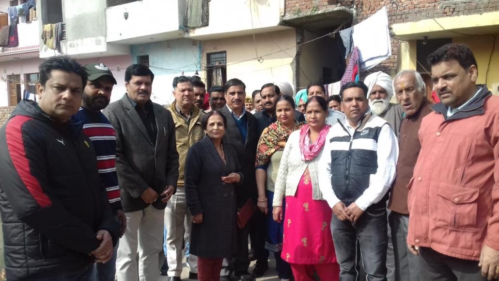 Village development committee visits at Mauli Jagran