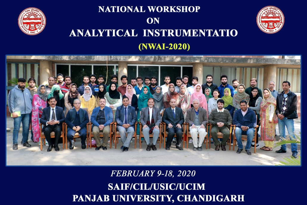 National workshop for Kashmir students at PU