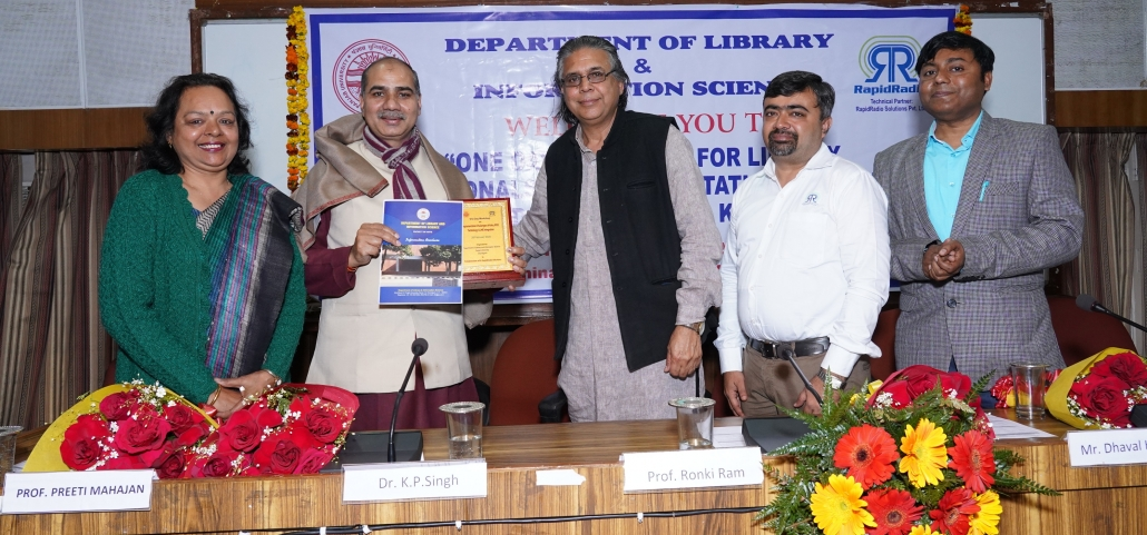 Workshop for Library Professionals at PU