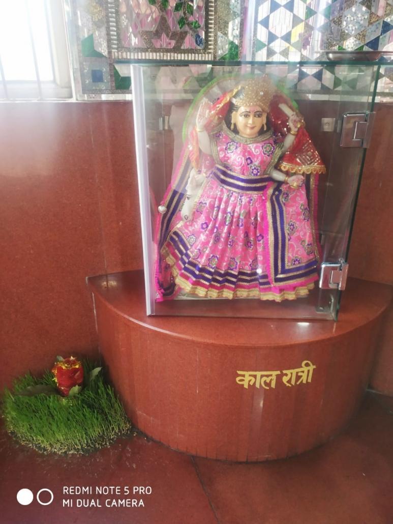 आज माँ कालरात्रि महाशक्ति माँ दुर्गा का सातवां रूप है।