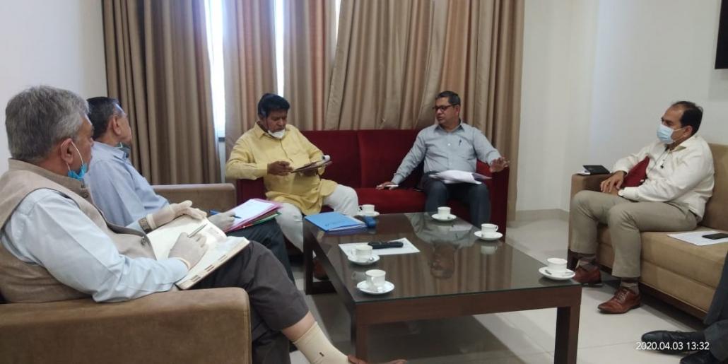 हरियाणा विधानसभा अध्यक्ष ज्ञानचंद गुप्ता ने कहा कि उनका प्रयास है कि जिला पंचकूला में कोई भी मजदूर, गरीब, दिहाड़ीदार व्यक्ति भूखा न रहे।